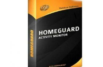 HomeGuard Activity Monitor box