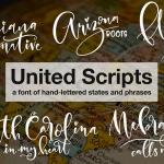 Free font United Scripts