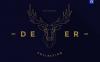 Free illustration Polygonal Deer Collection