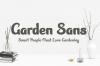 Garden Sans Font