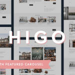 Higo - A Responsive WordPress Blog Theme cover