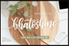 free font Bhatoshine - Fancy Font Duo
