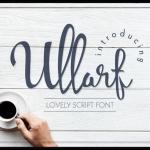Ullarf script font lemsign free download