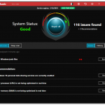 iolo System Mechanic 18.5 Activation key free - Dark Theme Interface