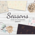 free download Seasons patterns collection