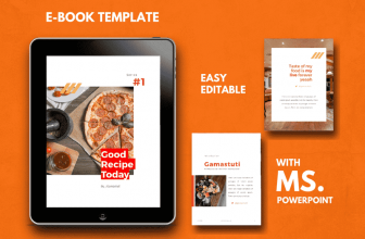 Free Recipes Ebook Powerpoint Template