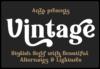 Anza Vintage Font Download
