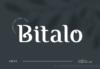 Bitalo Font by Gedrig Studio Download Commercial License