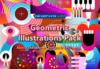 Geometric Illustrations Pack Discount Sale