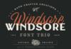 AF Studio Windsore Font Trio download sale