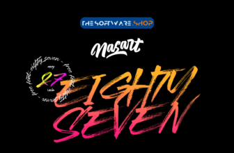 NasArt Eightyseven free font download