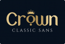 Free Font of The Week: Crown Classic Sans with Premium License