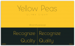 Download this week's best design freebies: Yellow Peas Ultra Light Font – Free for personal & commercial use