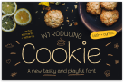 FREE FONT OF THE WEEK: Cookie Font with Premium License – A New Tasty & Playful Font