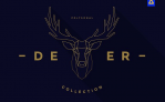 Free Illustration: Polygonal Deer Collection
