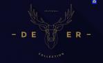 Free Illustration: Polygonal Deer Collection