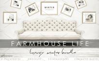 Free Stock Photos: FARMHOUSE LIFE. WINTER
