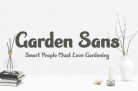 Free Font: Garden Sans + Commercial Use