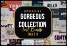 99% Off – Gorgeous Collection Font Bundle of  100 Premium Fonts – Commercial License