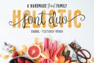 90% Off Holistic Font Duo with Extended License – 6 handmade fonts that work great together!