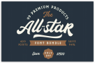 94% Off – The All-Star Font Bundle: 99 Premium Product with 420 fonts – Save $1500