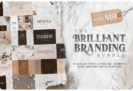 96% Off – The Brilliant Branding Bundle:  18 Elegant Fonts and Over 940+ High-Quality Design Elements