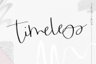 Free Font: Timeless – Handwritten Script Font with a Commercial License