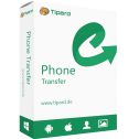 60% Off Coupon on Tipard Phone Transfer – LIFETIME LICENSE – Transfer Data Between Android/iOS Phones in One Click for Windows