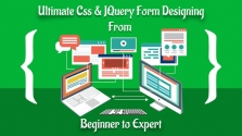100% Free udemy Coupon: Ultimate Css & JQuery Form Designing From Beginner to Expert