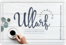 Free Font: Ullarf by leamsign – a lovely script font with a commercial license!