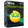 50% Off WinX MediaTrans (1 Year License for 2 PCs)