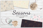 Free Pattern: Seasons patterns collection with Premium License
