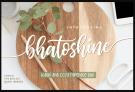 Free Script Font: Bhatoshine – Fancy Font Duo